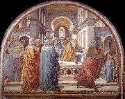 Expulsion of Joachim from the Temple g GOZZOLI, Benozzo